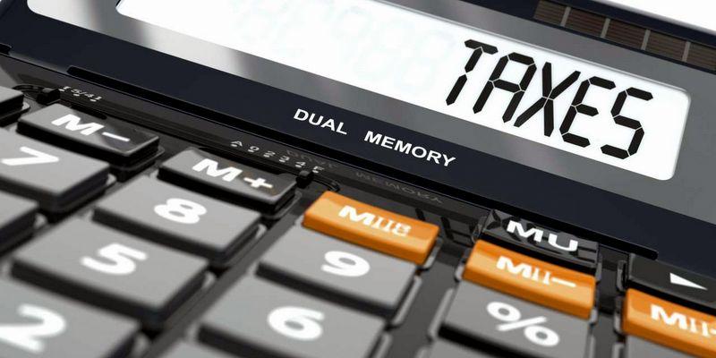 Concept of taxes calculation, Calculator